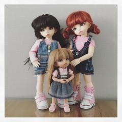 My bjd girls (Handmade by Jolanda) Tags: fairyland bjd pukifeeantetan pukifeeante pukifee littlefeebisou littlefeeante littlefee