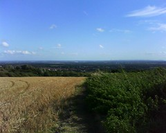 Looking  south from Billinge Hill, 8.9.16 (The Makerfield Rambler) Tags: billinge