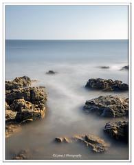 Rocky waters (Lynne J Photography) Tags: pier sunrise pastel long exposure beach rapeseed dusk sunset chemicalbeach seaham wheels sand steetley dawn colors rocks sidelight