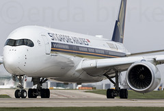 Singapore Airlines 9V-SMF 9-4-2017 (Enda Burke) Tags: 9vsmf 10000 10000thairbus avgeek aviation airplane av8 aero aviationviewingpark avp airport arrival airbus apron a350 airbusa350 xwb window winglets wings egcc engine engines england evening singaporeairlines singapore canon canon7dmk2 cockpit flightdeck flight fly holiday holidays runway runwayvisitorpark rvp runwayvistitorpark ringway travel takeoff taxiing taxiway terminal1 terminal3 t3carpark terminal2 planes plane manchesterairport manchester man manc manairport manchesterrunwayvisitorpark manchestercity flying