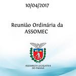Reunião Ordinária da ASSOMEC