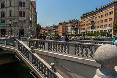 IMG_9773 (ludo.depotter) Tags: ljubljana ljubljanica slovenië driebruggen
