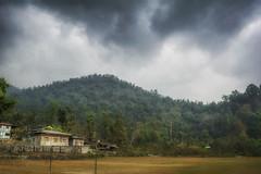 Village (jamessurajbarwa) Tags: mountans travel buxa forte dooars bhutan cloudy rain winter storm house landscape james suraj barwa