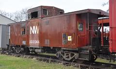 Coldwater, Michigan ( 8 of 10) (Bob McGilvray Jr.) Tags: coldwater mi michigan nw norfolkwestern caboose steel red cupola railroad train tracks littleriverrailroad