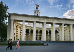 "Москва, Россия, павильон ""Беларусь"" на ВДНХ (zzuka) Tags: москва россия moscow russia"