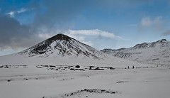 Seljafell (geh2012) Tags: seljafell snæfellsnes ísland iceland fjall mountain snjór snow ský clouds gunnareiríkur geh gunnareiríkurhauksson