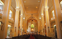 Sao Domingos cathedral, Macau (Niall Corbet) Tags: china macau saodomingos cathedral