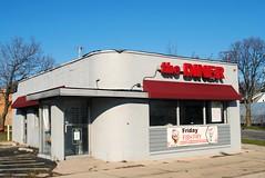 The Diner, Milwaukee Wisconsin (Cragin Spring) Tags: midwest milwaukee milwaukeewi milwaukeewisconsin wisconsin wi urban unitedstatesofamerica unitedstates usa city building sign diner thediner restaurant