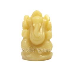 Ganesha idol in yellow aventurine online - VedicVaani.com (vedicvaani.com) Tags: idol ganesha lord aventurine yellow gemstone online india ganesh god ganpati statue
