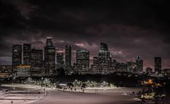 LA Skyline (mcalma68) Tags: dtla los angeles sky night architecture buildings urban cityscape