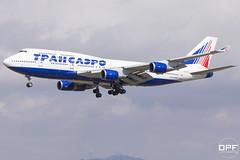 VQ-BHX (Escursso) Tags: 747 7474f6 b747 bcn barcelona boeing catalunya elprat jumbo lebl llobregat spotter transaeroairlines vqbhx aeroport aeropuerto airplane airport avio avion plane spain spotting