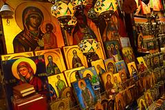 Greek orthodox portraits in Monastiraki (Nicolay Abril) Tags: athens greece αθηνα ελλάδα athènes grèce athen griechenland atene grecia atina yunanistan atenas