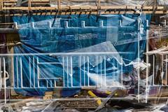 Baana 2017 (pni) Tags: tarpaulin fence metal plastic wood multiexposure multipleexposure tripleexposure baana helsinki helsingfors finland suomi pekkanikrus skrubu pni