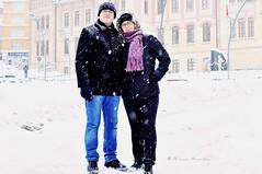 Kar altında poz (Hüseyin Başaoğlu) Tags: hüseyinbaşaoğlu huseyinbasaoglu türkiye turkey turkei turquie çanakkale dardanel biga pegai nikond300s afsnikkor35mmf18g