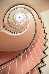 Cafe Glockenspiel (Roger_T) Tags: munich münchen staircase treppe wendeltreppe stairs stair coil vortex cafeglockenspiel cafe glockenspiel architecture architektur 2016 germany up aufwärts spiralstaircase spirale nikond800e