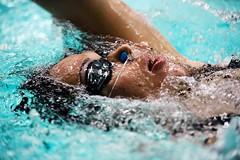 Nuoto (AcquavivaStore) Tags: nuoto tappo naso donna occhialini bolle blu