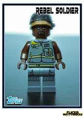 Star Wars Trading Card (WattyBricks) Tags: lego star wars topps trading baseball card rebels rogue one