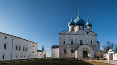 Suzdal Kremlin (Oleg.A) Tags: spring landscape sunset church nature outdoor rural evening villiage suzdal orthodox architecture cross cathedral dome monastery russia catedral convent landscapes outdoors