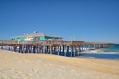 """Outer Banks Fishing Pier"" (Photography by Sharon Farrell) Tags: outerbanksfishingpier nagshead nagsheadnorthcarolina nagsheadnc northcarolina outerbanks outerbanksnorthcarolina outerbanksnc obx obxnc oldoregoninletroad whalebone whalebonejunction fishingpier fishingdock pier dock wharf"