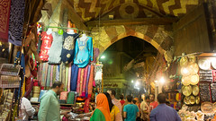 Inside the Badistan gate of Khan El-Khalili (Kodak Agfa) Tags: egypt markets market khanalkhalili khanelkhalili africa northafrica mideast middleeast nex5 sonynex places cities cairo islamiccairo egyptian thisiscairo thisisegypt tourism travel مصر القاهرة القاهرةالاسلامية خانالخليلى سوق ramadan ramadan2016