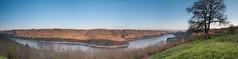 Panorama du Site de la Vie (loicmazetlm) Tags: barrage bort site vie nikon samyang 14mm d90 paysage landscpae landscape nature sun soleil couché sunset eau retenue printemps