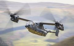 USAF Bell Boeing CV-22B Osprey 11-0054 (benstaceyphotography) Tags: usaf cv22b osprey 110054 raf mildenhall lowlevel rotors boeing bell blur motion