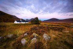 Glencoe In Scotland (Steven Dijkshoorn) Tags: glencoe in scotland white house schotland