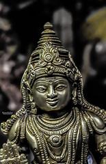 அழகென்ற சொல்லுக்கு.. (Ramalakshmi Rajan) Tags: nikkor35mm nikond5000 nikon idols idol brassidol lordmuruga malleshwaram bangalore placesofworship