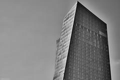 Frankfurt (rainerneumann831) Tags: frankfurt ezb blau gebäude architektur hochhaus linien blackwhite