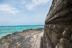 Volcanic Coast (Alicia Caruso) Tags: fiji beach beachscape naukacuvuisland nikon rocks rockformation sea volcanic sigma coast coastline ocean water