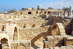 Israel-04896 - Warehouses (archer10 (Dennis) 94M Views) Tags: israel caesarea roman crusader ruins mediterranean globus sony a6300 ilce6300 18200mm 1650mm mirrorless free freepicture archer10 dennis jarvis dennisgjarvis dennisjarvis iamcanadian novascotia canada nationalpark