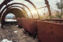abandoned mine (blende einspunktacht) Tags: mine abandonedmine abandoned urbex ilovedecay decay verlasseneorte sunlight sun canon rotten rusty