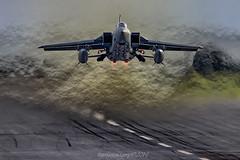 Q Launch (Ross Forsyth - tigerfastimagery) Tags: panaviatornadof3 tornadof3 qra q quickreactionalert airdefence northernqra rafleuchars leuchars raf skyflash sidewinder asramm afterburner takeoff sortie intercept interceptor fighter 111squadron 111 jelly jellyair