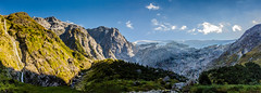 Cascada river´s Valley (Cristian González Photography) Tags: panoramic glaciar mountain trekking airelibre nature landscapes naturebrilliance natureperfection wonderfulplaces