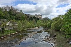 Richmond Castle (mattgilmartin) Tags: river yorkshire castle
