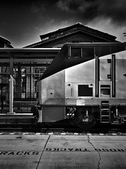 Commuting machine (26carlangas) Tags: train trainengine california sacramento amtrak capitolcorridor