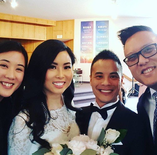 Kickin' it with the lovely bride and groom at the #EstherandWill  wedding yesterday. #sopretty #sobeautiful #congrats #congratstothehappycouple