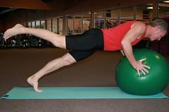 Pilates-on-the-Ball with Ralph (V-rider) Tags: exercise joy balls karen class mat strength gym ralph core pilates stability rhm nlf vrider97 pilatesontheball