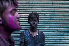 Faces of Holi 2014 (Hermaenos) Tags: street color canon holi bazar 6d coloredface shakhari vftw
