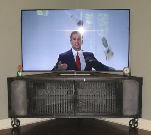 Free Triangle Media Cabinet Original Design By Justin Real Corner Media  Cabinet Industrial Media With Corner Media Cabinet.