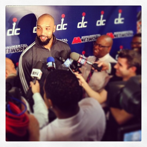 Previously on... #Drizzle Drew Gooden, a Wizard.