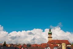 Blue sky over Salvatorkirche (Kenichi Ogu) Tags: city germany nikon bluesky nikkor salvatorkirche aalen d90 18135mm ostalb kenichiogu