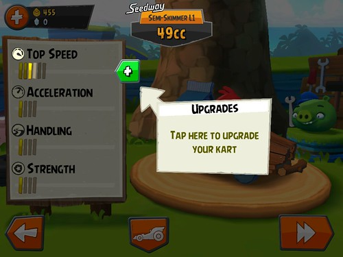 Angry Birds Go! Items Store: screenshots, UI