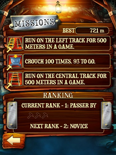 Rail Rush Missions: screenshots, UI