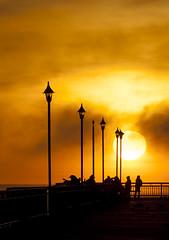20140427_0239_1D3-200 Sun Up (johnstewartnz) Tags: sun sunrise canon eos dawn pier 70200 newbrighton 70200mm 200mm newbrightonpier 1dmarkiii 1d3 1dmark3 wonderfulword unlimitedphotos