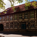 Timber framed house in town of Herford