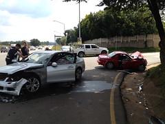 My Mazda MX-5 - The end (Ryno du Plessis) Tags: crash accident mazda miata mx5