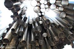 Sibelius (alanchanflor) Tags: canon organ organo exterior metal perspectiva finlandia tubos luz sibelius estructura tubes external texture structure lighs musica music