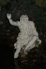 095-20140419_Stourhead House Gardens-Wiltshire-lead statue of classical river god sited at S end of Grotto (Nick Kaye) Tags: england sculpture house heritage gardens stourhead wiltshire nationaltrust