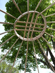 "Yurt crown wheel • <a style=""font-size:0.8em;"" href=""http://www.flickr.com/photos/61957374@N08/14094635367/"" target=""_blank"">View on Flickr</a>"